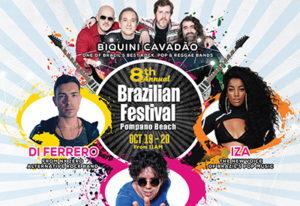 IZA, Biquini Cavadão e outras atrações no Brazilian Festival Pompano Beach