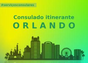 Consulado anuncia três dias de atendimento itinerante em Orlando