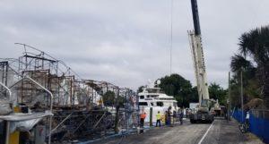 Incêndio destrói iates de mais de US$ 20 milhões na marina de Fort Lauderdale