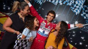 Madame Tussauds Orlando adiciona estátua de cera de Ayrton Senna a seu acervo