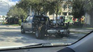 Explosão de tanque causa fechamento de ruas em Doral