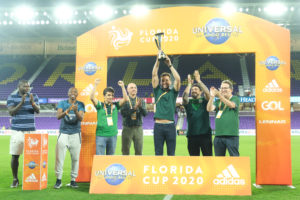 No retorno de Luxemburgo ao clube, Palmeiras comemora primeiro título do Flórida Cup
