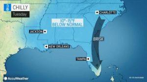 Condados declaram emergência e parques em Orlando fecham áreas devido ao frio