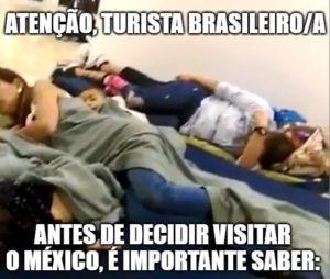 Aumenta número de turistas brasileiros barrados no México, diz Consulado