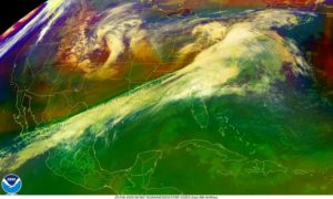 Previsão indica nova frente fria e tempestades para a Flórida