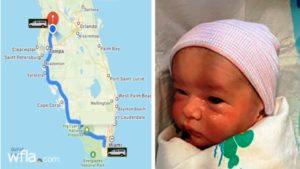 Polícia continua busca por recém-nascido desaparecido em Miami-Dade