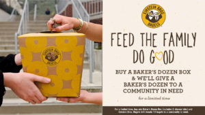 Eistein Bros. promete doar bagels aos necessitados durante Covid-19