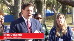 Governador da Flórida exige auto quarentena para viajantes vindos de NY, NJ e CT