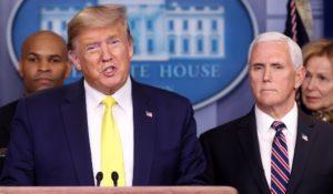 AO VIVO: Trump fala sobre decisão dos EUA para conter o coronavírus